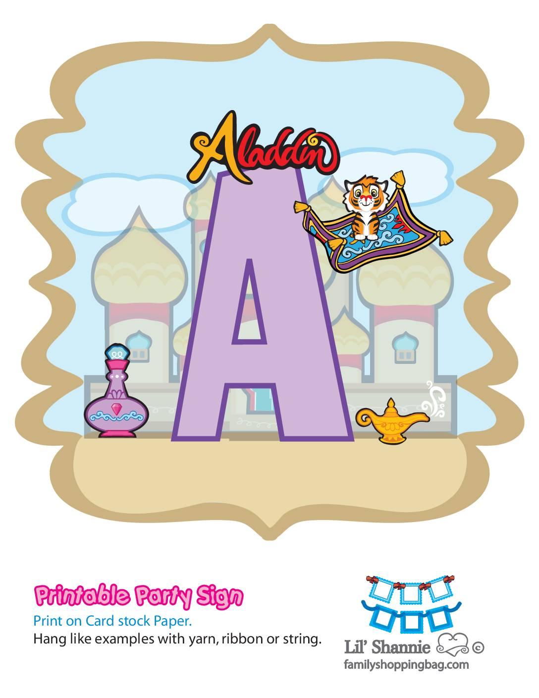 A Banner Aladdin