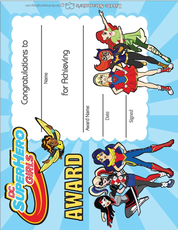 Award DC Super Hero Girls
