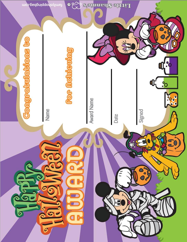 Award Halloween Mickey