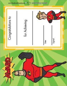 Award Incredibles