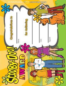 Award Scooby Doo