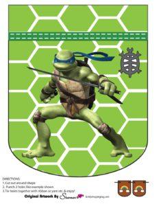 Banner 3 Ninja Turtles