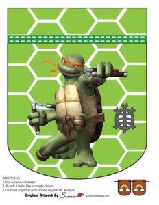 Banner 4 Ninja Turtles