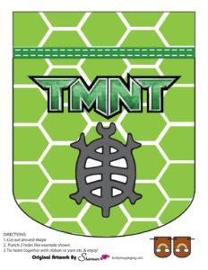 Banner 5 Ninja Turtles