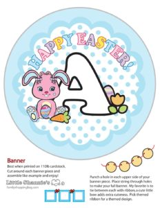 Banner A Easter