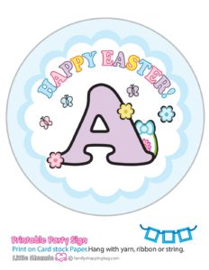 Banner A Mouse Easter