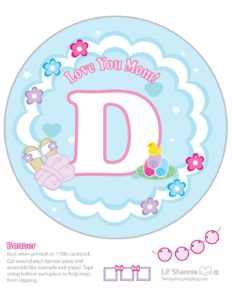 Banner D Moms Spa Day