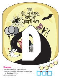 Banner D Nightmare Before Christmas