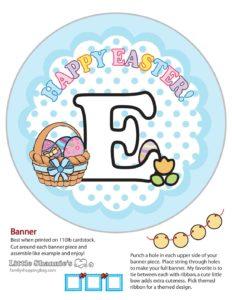 Banner E2 Easter