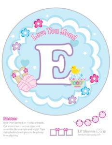Banner E Moms Spa Day