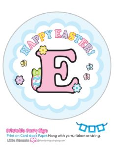 Banner E Mouse Easter