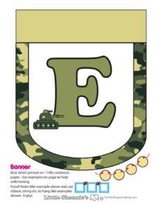 Banner E army
