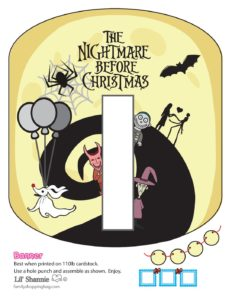 Banner I Nightmare Before Christmas