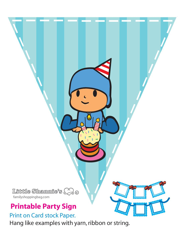 Banner Kid Pocoyo