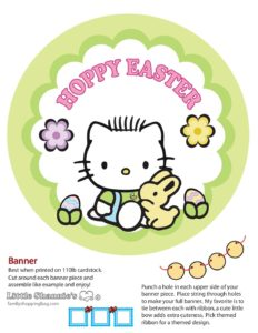 Banner Kitty2 Easter