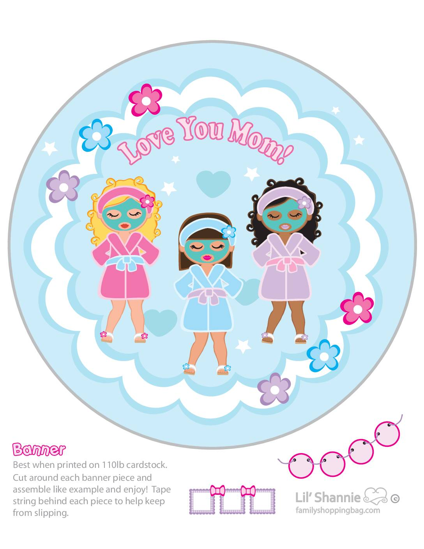 Banner Left Moms Spa Day