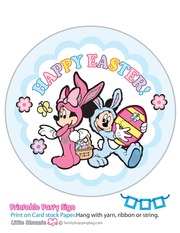 Banner Left Mouse Easter