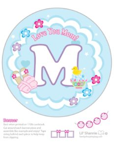 Banner M Moms Spa Day