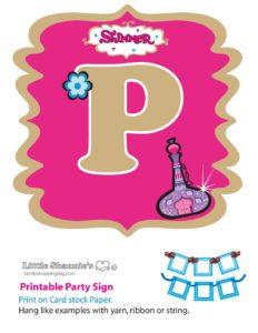 Banner P Shimmer