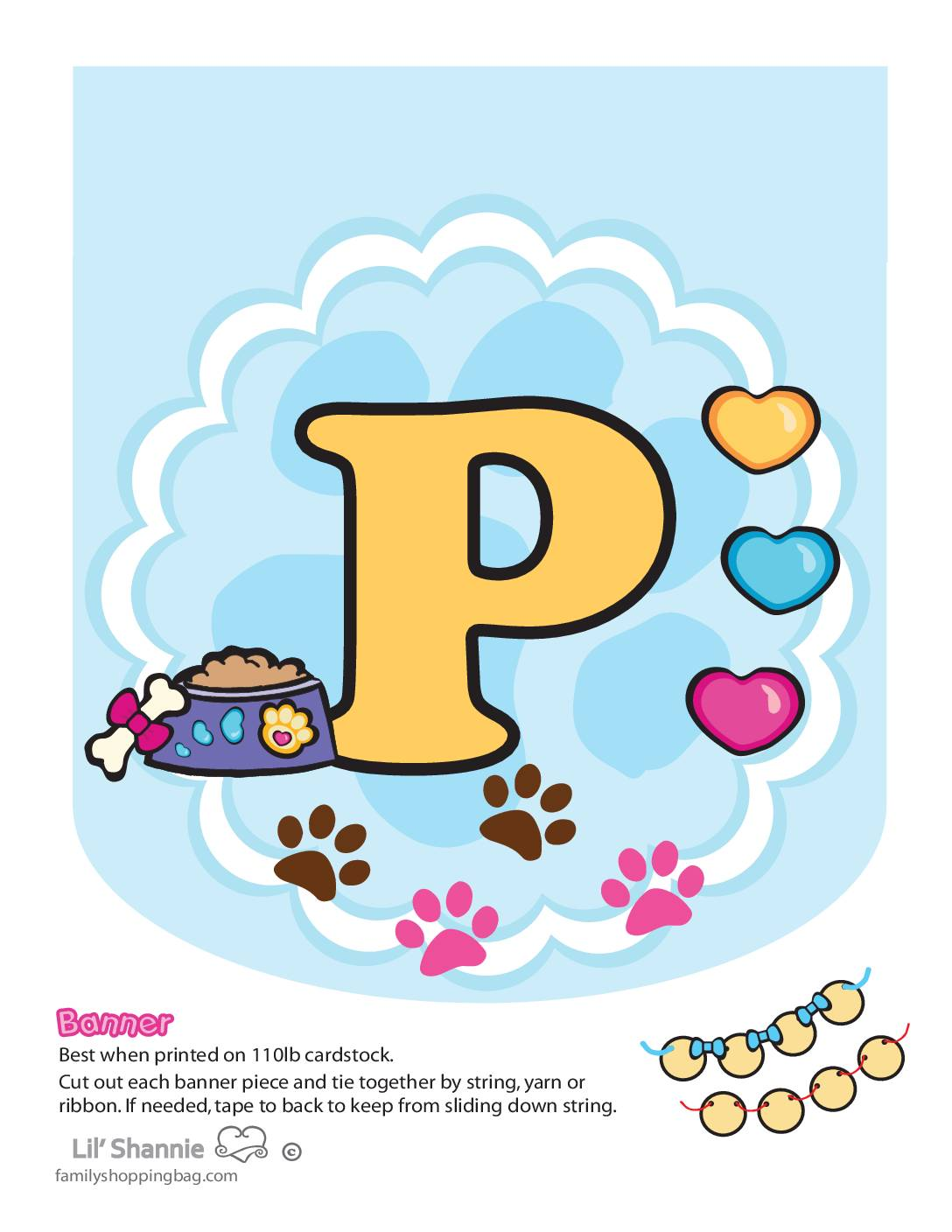 Banner P Valentine Pups and Kittens