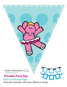Banner Pink Pocoyo