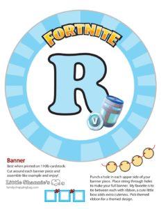 Banner R Fortnite