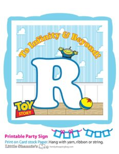 Banner R Toy Story