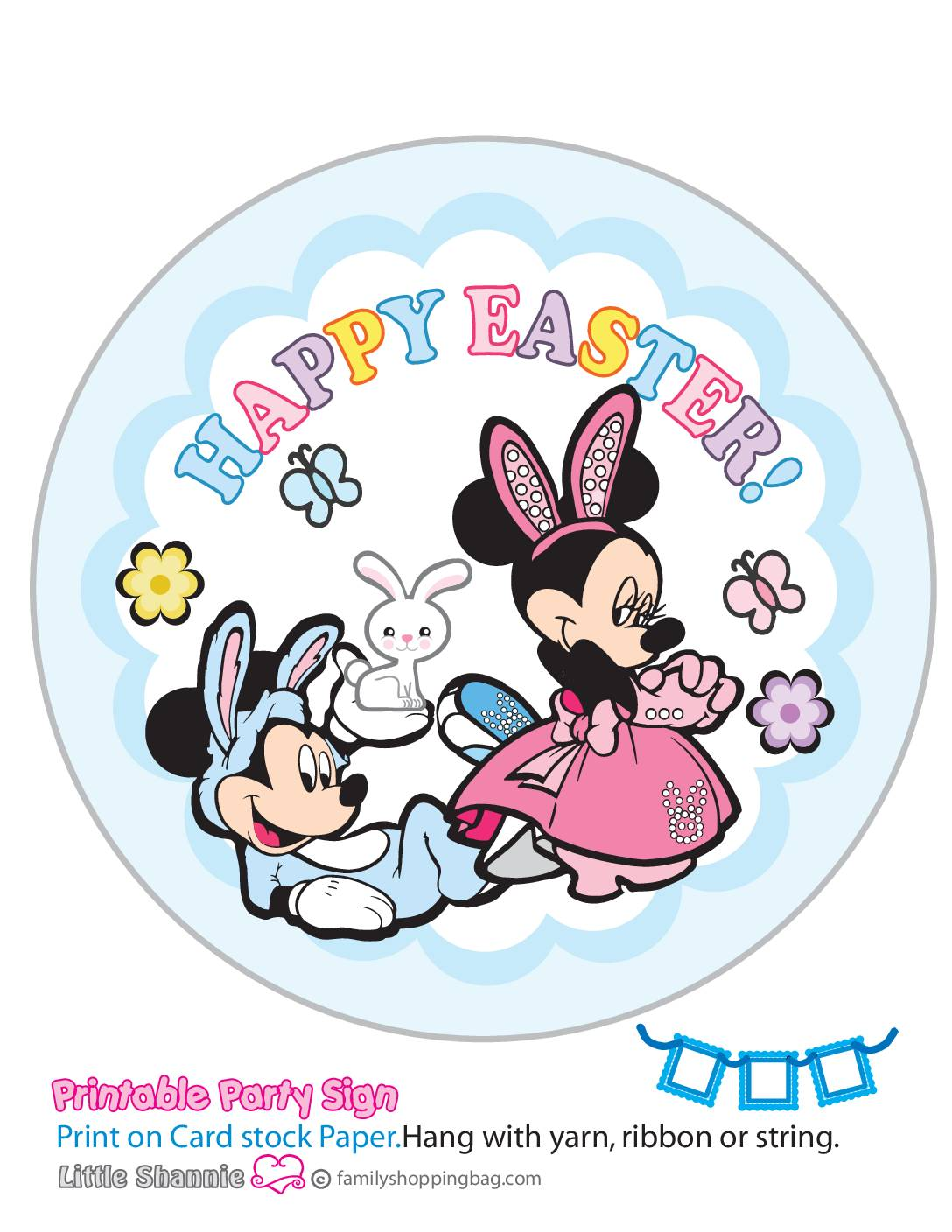 Banner Right Mouse Easter