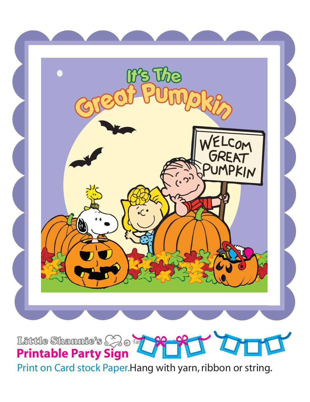 Banner Right Peanuts Halloween