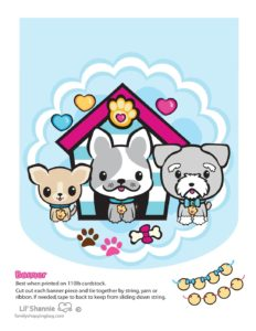 Banner Right Valentine Pups and Kittens