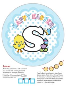 Banner S Easter