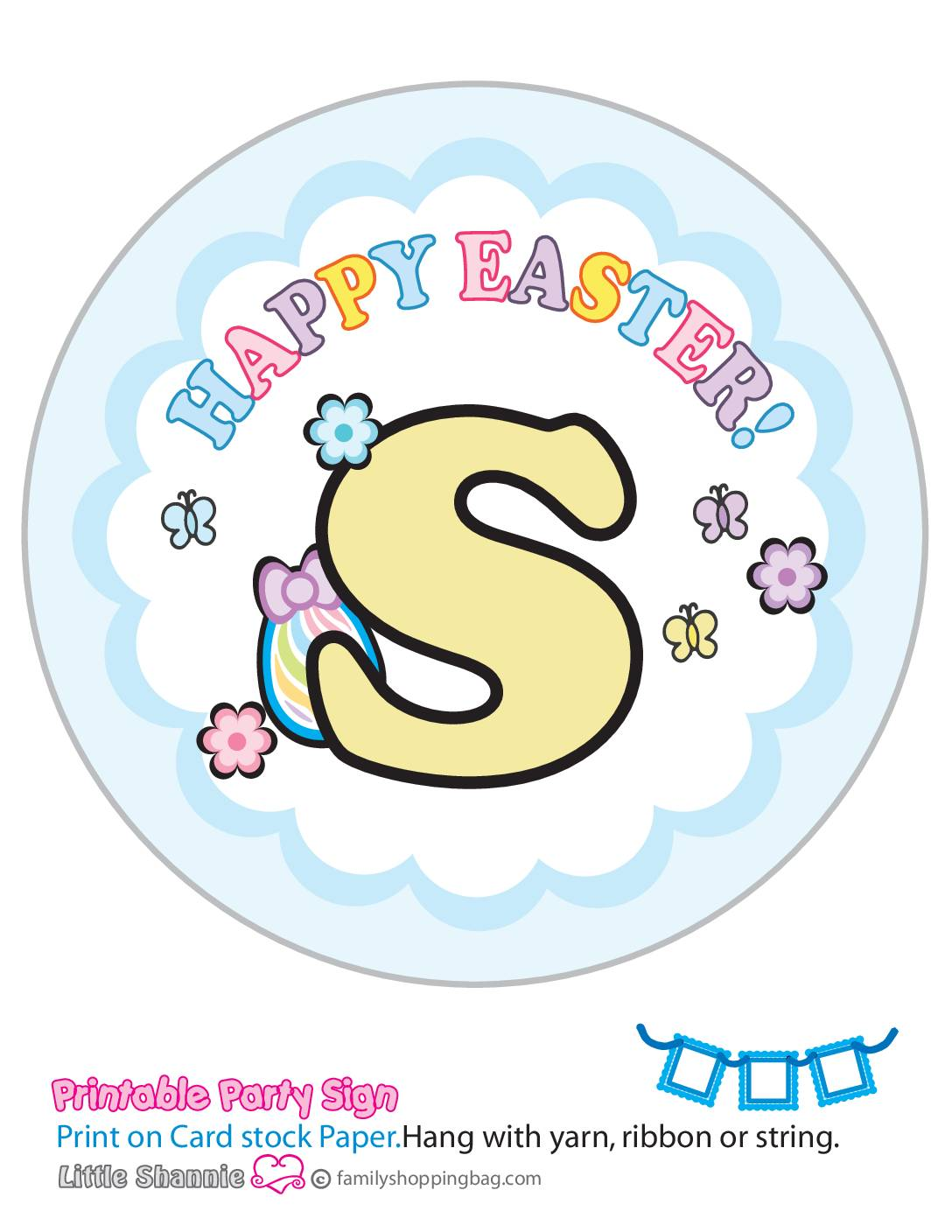 Banner S Mouse Easter