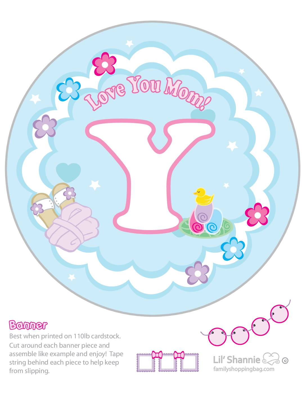 Banner Y Moms Spa Day