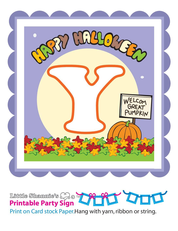 Banner Y Peanuts Halloween