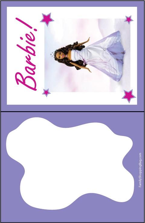Barbie African Princess Invite