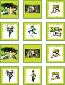 Ben 10 Stickers