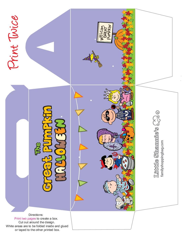 Big Box Peanuts Halloween