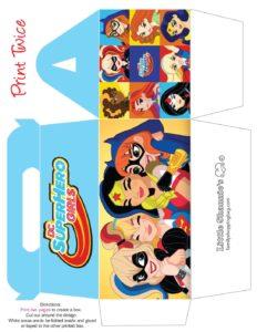 Big Favor Box DC Super Hero Girls