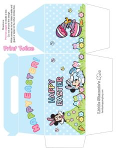 Big Favor Box Mickey Mouse Easter