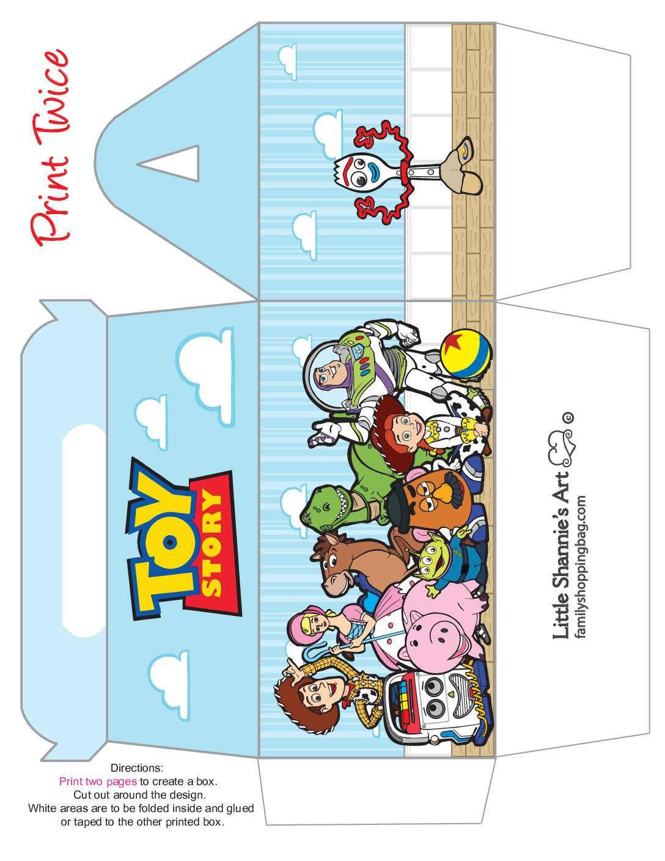 Big Favor Box Toy Story