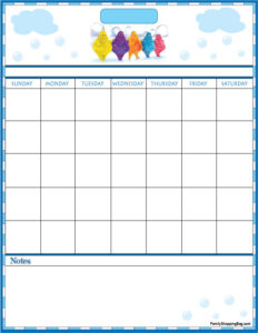 Boobah Calendar