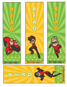 Book Marks Incredibles
