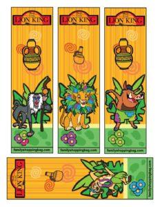 Bookmark Lion King