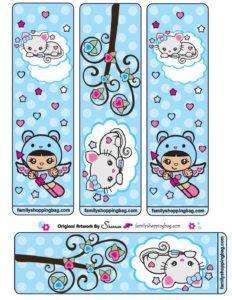 Bookmark Valentine Shannies