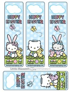 Bookmarks Easter