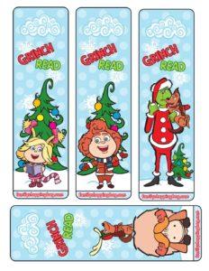 Bookmarks Grinch