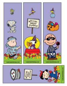 Bookmarks Halloween