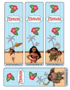 Bookmarks Moana