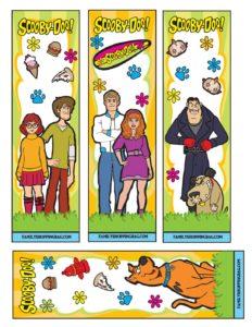 Bookmarks Scooby Doo