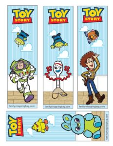 Bookmarks Toy Story